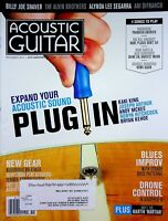 Acoustic Guitar Magazine November 2014 Expand Your Acoustic Sound Plug In m598