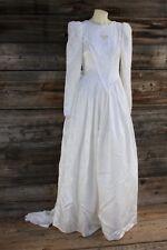 Jessica McClintock White Lace Wedding Dress Size 10