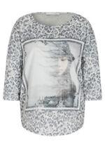 3/4 Arm Damenblusen, - tops & -shirts mit Tiermuster Leopard