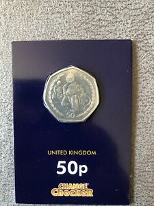 RARE Isle of Man (1997) TT Motorbike Racing 50p Collectable Coin