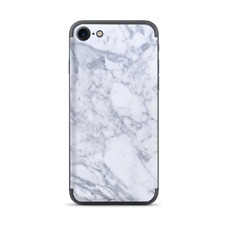 Apple iPhone 7 / 8 Skins Decal Wrap Grey White Standard Marble