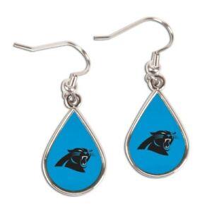 Carolina Panthers Tear Drop Earrings