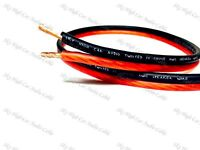 50' feet TRUE 14 Gauge AWG RED/BK Speaker Wire Car Home Audio ft GA