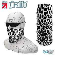 G400 Snow Cat Print Headgear Neckwarmer multifunctional Bandana Headband