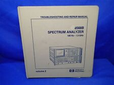 HP 8568B SPECTRUM ANALYZER TROUBLESHOOTING & REPAIR MANUAL