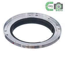 LR-AI Leica R L/R Lens to Nikon F Mount Adapter Ring D3X D4 D90 D600 D800 D3200