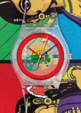 Swatch Gent Special Charmingly Beautiful by Manish Arora GE217 Neuware Selten