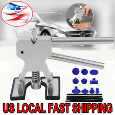 Car Body Dent Lifter Puller Tabs Paintless Dent Repair Hail Removal  Tool Kit BP