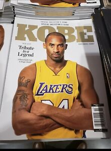 Centennial Icons Kobe Bryant Special Collector's Issue Magazine Lakers Legend!