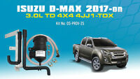 Mann ProVent Oil Catch Can Kit for Isuzu D-MAX MU-X 2017-on 3.0L TD 4JJ1-TCX