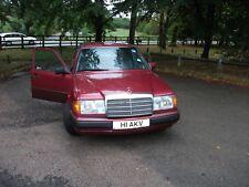 Mercedes 230e (W124) 1991 - Low Miles , New MOT, Private Reg ,  Classic Car