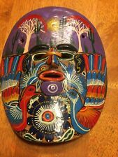 Mexican tourist Pottery Mask  Clay