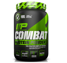 MUSCLE PHARM COMBAT CASEIN PROTEIN WHEY POWDER SUPPLEMENT CHOCOLATE MUSCLEPHARM