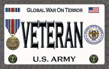 U.S.Army - Global War on Terror - Magnetic Car Sign - 6in X 3in