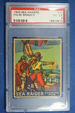 1933 Sea Raiders - World Wide Gum Boston - #16 False Signals PSA-4 VG/Exc
