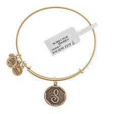 Alex & Ani inicial brazalete de oro S A13EB14SG-RRP £ 29