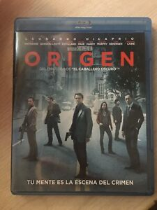Origen Inception DiCaprio Christopher Nolan Bluray 2 Discos Ed Especial España