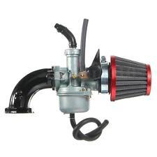 22mm PZ22 Carb Carburetor Air Filter Intake Pipe For 110cc 125cc Pit Dirt Bike