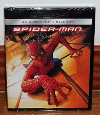 SPIDER-MAN 4K ULTRA HD+BLU-RAY NEUF SCELLÉ ACTION AVENTURES (SIN OUVRIR) R2