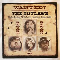 "The Outlaws ""WANTED!"" 1977 RCA AFL1-1321 Lp (EX/VG+) FAST SHIPPING!"