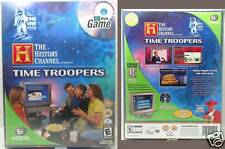 NIB Time Troopers TV DVD Game from the History Channel.