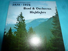 Nathan Eckstein Middle School 1975-76 Band LP NM