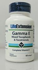 Gamma E Mixed Tocopherols & Tocotrienols, Life Extension, 60 softgels