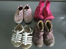 Lot chaussure fille P 24