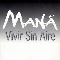 MANA VIVIR SIN AIRE CD Single PROMO RARO ITALIANO