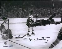 "Bobby Orr Boston Bruins Autographed 8"" x 10"" The Goal Photograph"