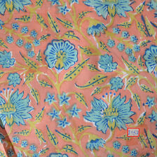 10 Yard Indian Hand block Print Running Loose Cotton Fabrics Printed Decor