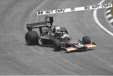 9x6 Photograph Tom Pryce  UOP-Shadow DN3B ,  Brazilian GP  Interlagos 1975