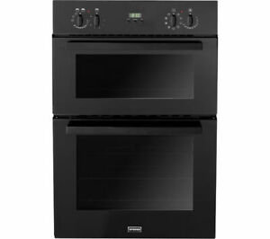 Graded STOVES SEB900MFS Built-in Electric Double Oven - Black