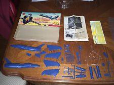 Vintage Lindberg 1:48 Navy Blue Angels F11F-1 Plastic Model Kit #541U Unassemble