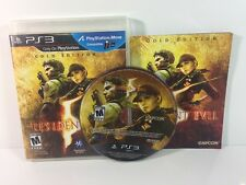 Resident Evil 5: Gold Edition (Sony PlayStation 3 PS3, 2010) Video Game Complete