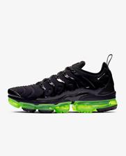 Nike MEN'S Air Vapormax Plus Black Reflect Silver Volt Green SIZE 8.5 BRAND NEW