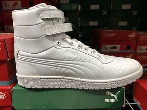 Puma Sky Hi Patent Emboss Men's Size 14 All Puma White. 362032 04