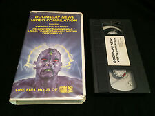 DOOMSDAY NEWS VIDEO COMPILATION VHS KREATOR CELTIC FROST HELLOWEEN RAGE VOIVOD