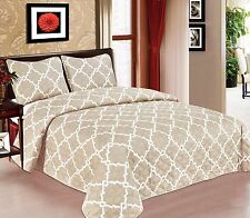 Galaxy Bedspread 3-Piece Quilt Set Soft Quilted Bedding Coverlet NEW Arrival SAL