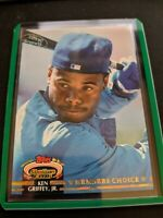 1992 Topps Stadium Club Members Choice Ken Griffey Jr Seattle Mariners #603