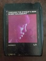 Bobby Goldsboro Through the Eyes of a Man 8 Track Cartridge Tape 1974