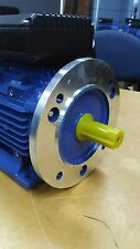 B5 FLANGE 2.2kw/3HP 2800rpm motor single-phase 240v REVERSIBLE CSCR shaft 24mm