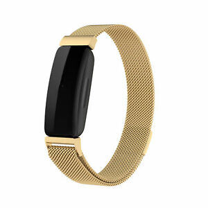 For Fitbit inspire 2 Stainless Steel Magnetic Strap Band Wristband Replacement