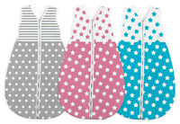 BABY SLEEPING BAG WARM KIDS CHILD TODDLER SLEEPSACK SHORT SLEEVE COTTON