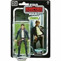Star Wars 40th Anniversary Black Series ESB Han Solo Action Figure - In Stock!