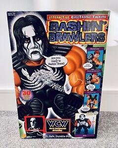 WCW 1998 Bashin' Brawlers - NWO Sting - BOXED Toy toy biz aew wwf wwe hasbro