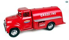 Awesome 1950s Vintage Restored Red Tonka Gasoline Pressed Steel Tanker Truck