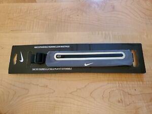 NEW NWT Nike Expandable Running Lean Waistpack Gray & Black