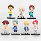 BTS JIN J-HOPE JIMIN SUGA 7PCS Movie Action Figure Collection Kids Toy Doll Gift