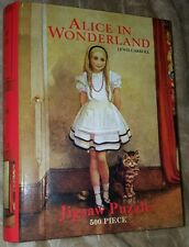 Alice In Wonderland 500pc Jigsaw Puzzle~Limited 2011 Robert Frederick~Sealed Bag